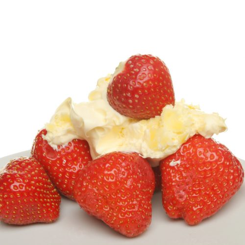 Strawberries & Clotted