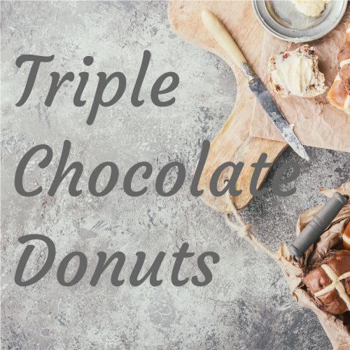Donuts - Triple Chocolate - Pack of 12
