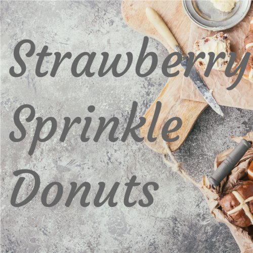 Donuts - Strawberry Sprinkle - Pack of 12