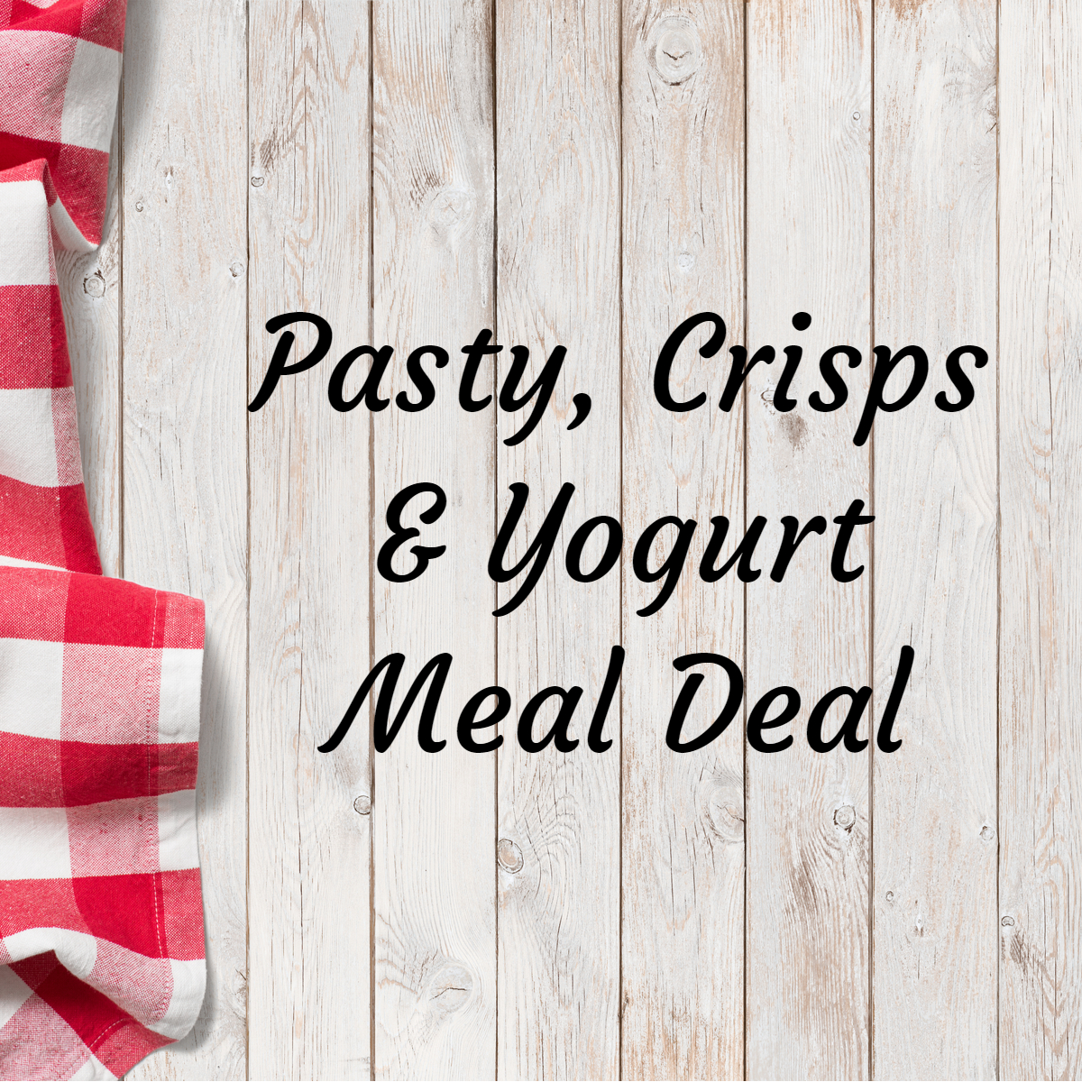 Pasty Meal Deal